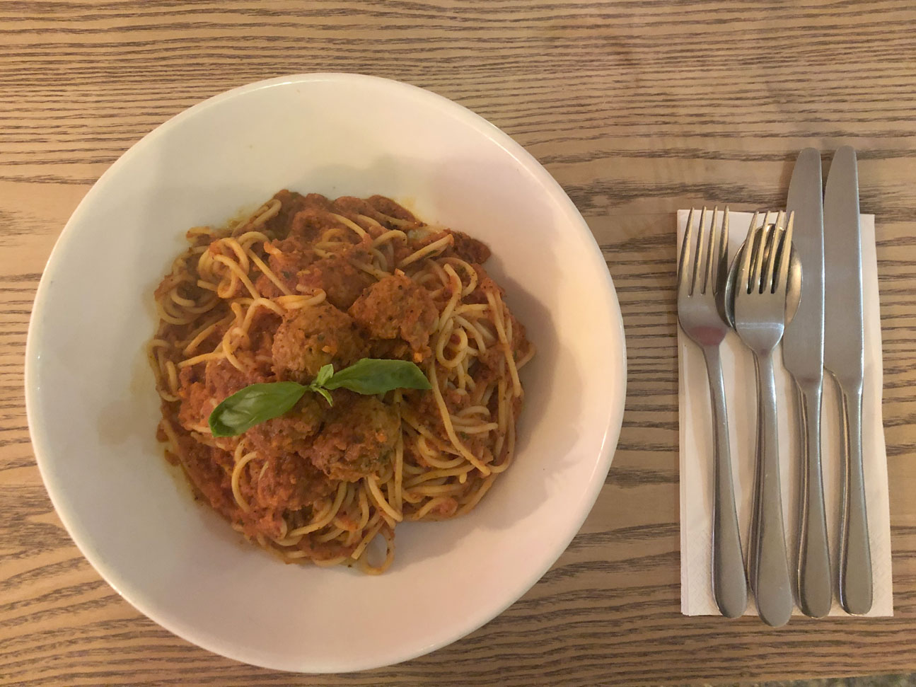 Meatballs & Spaghetti at Gios | Pizza + Pasta Crewe | Gios Crewe | Cheshire